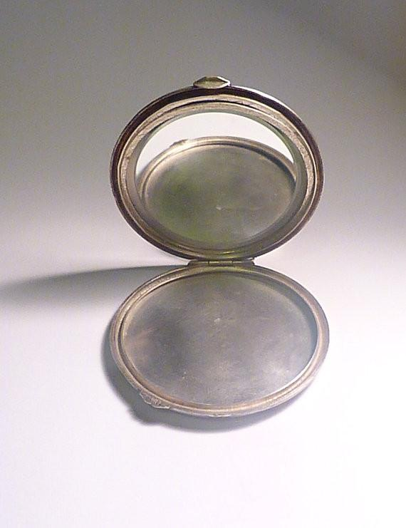 Rare elopement compact 1940s romantic gifts for her