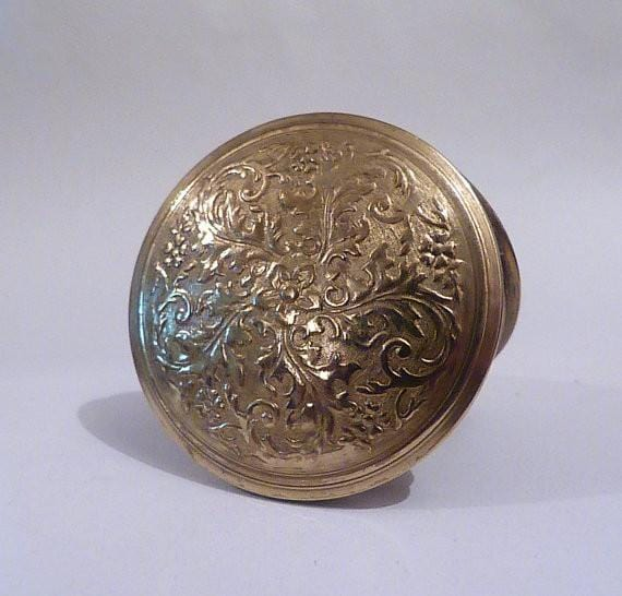 Vintage Powder Compacts 1920 S Dhaussy Compact The