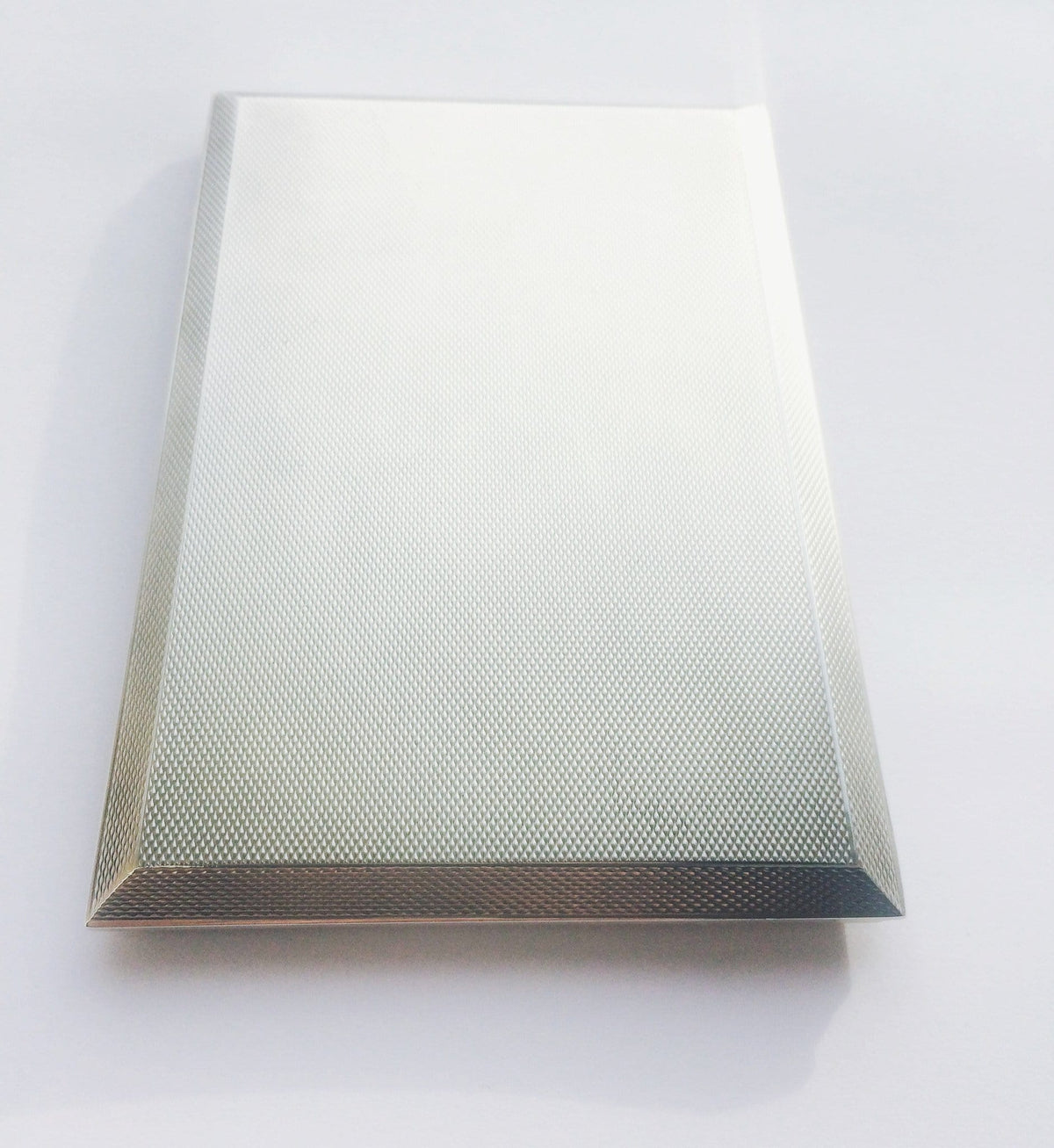 Large sterling silver Asprey cigarette case