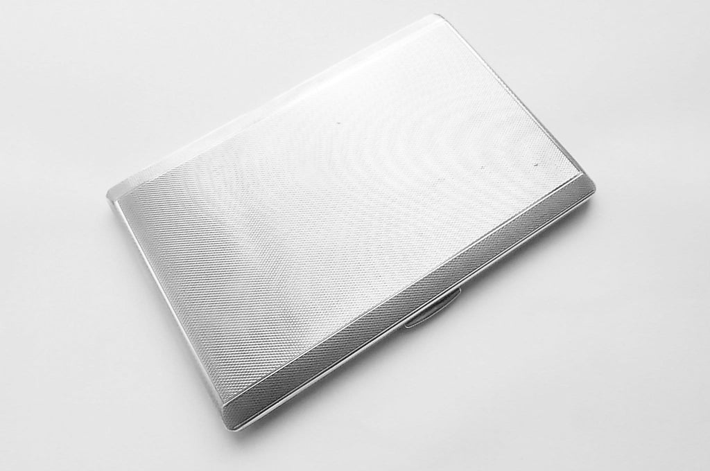 large sterling silver cigarette cases