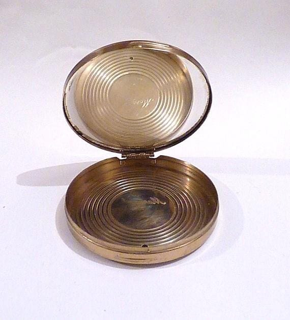 mid-century powder compacts