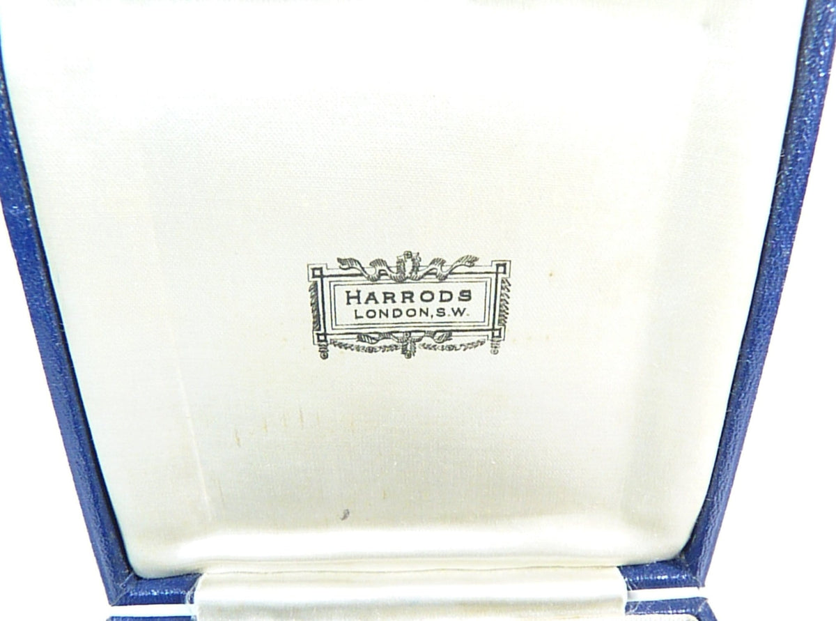 original Harrods Ltd antique case