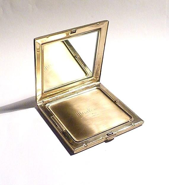 powder mirror compacts vintage