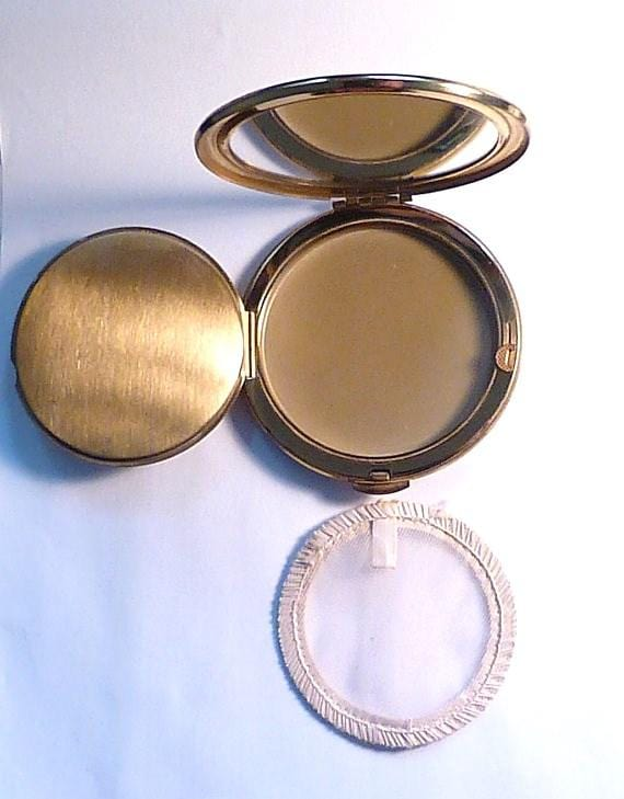 powder mirrors vintage 1950s