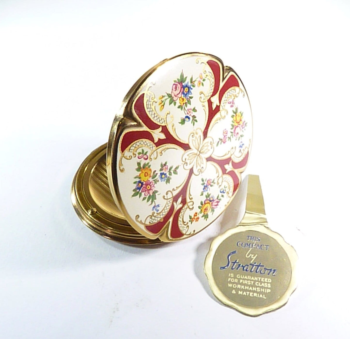 rare  1959 Stratton Piccadilly compact mirror