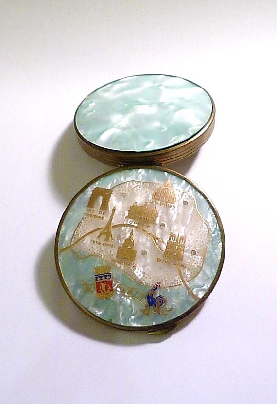rare and valuable powder compacts