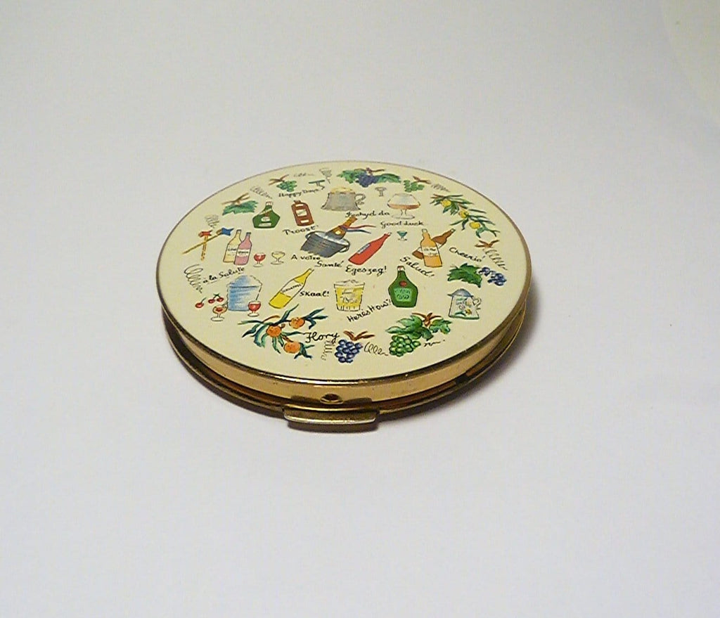 rare vintage Stratton powder compacts