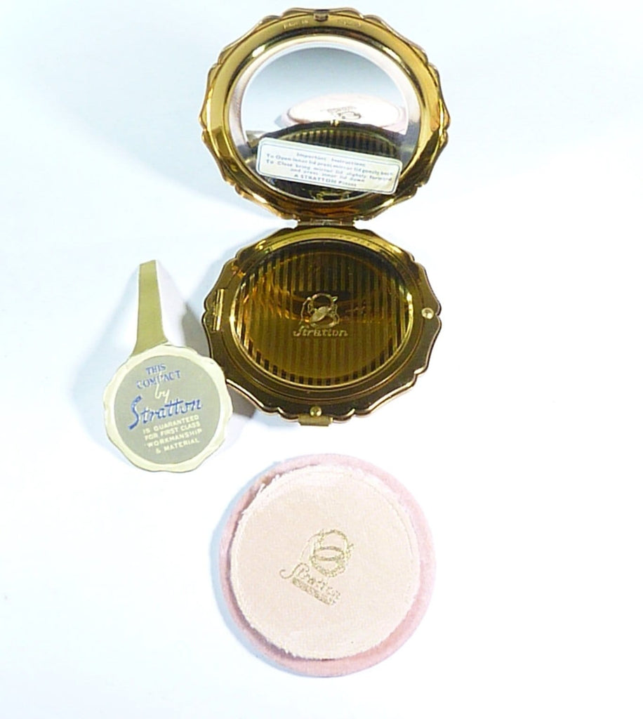 refillable vintage compacts loose face powder