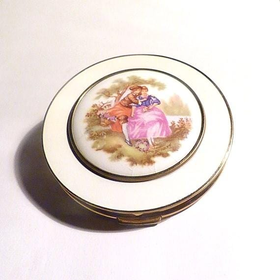 romantic vintage compacts