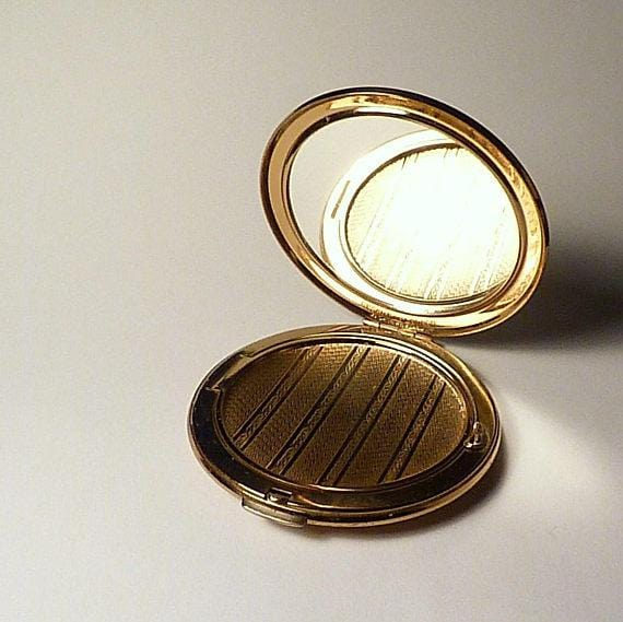romantic vintage powder compacts