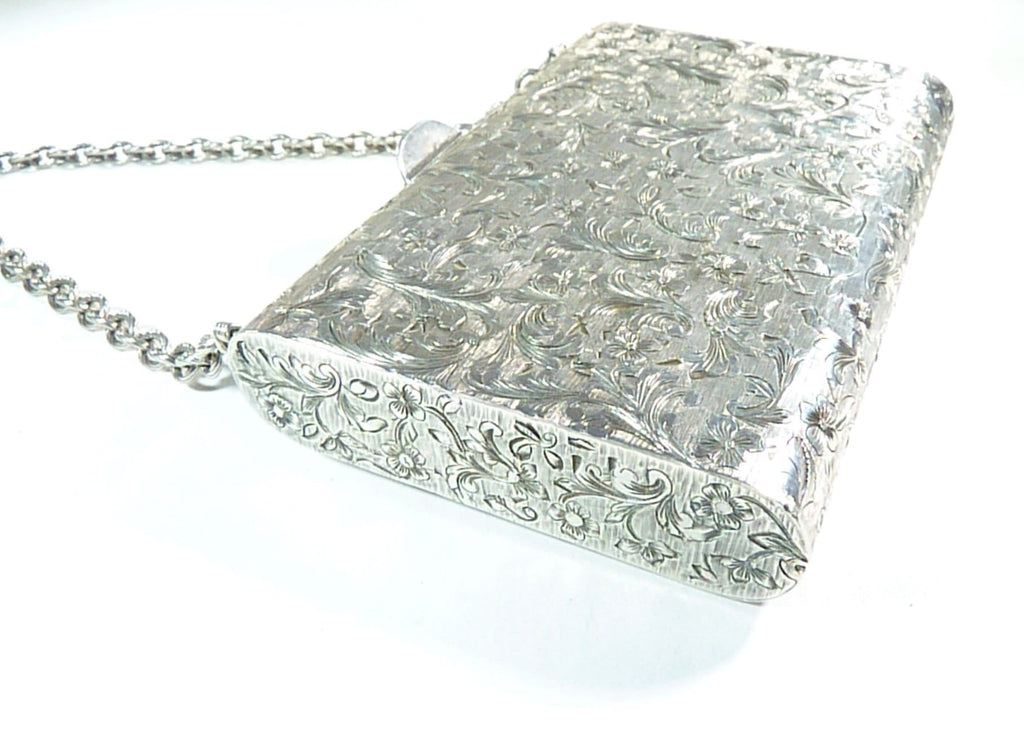 solid silver bridal clutches