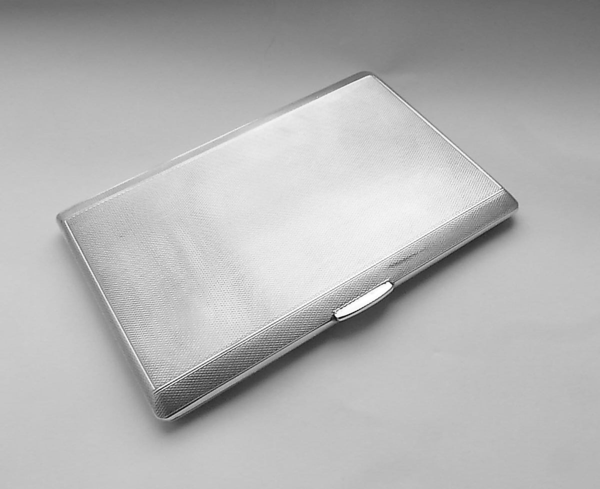solid silver card cases