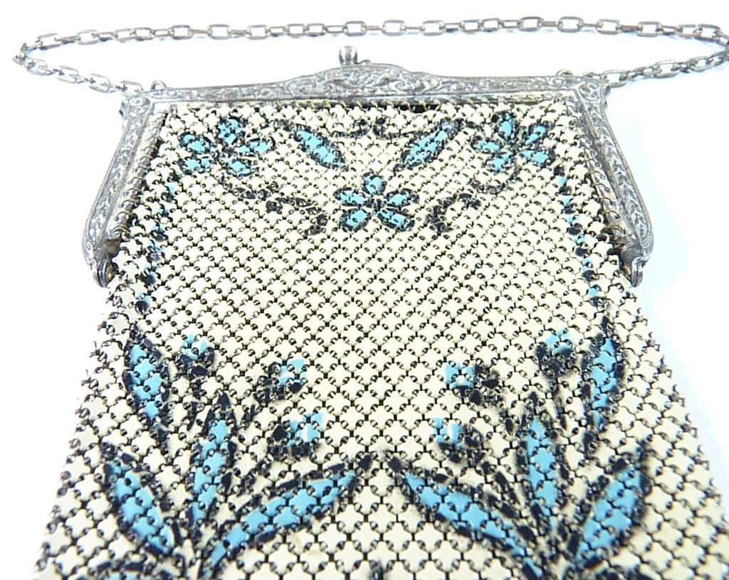 something blue bridal gifts mesh purse