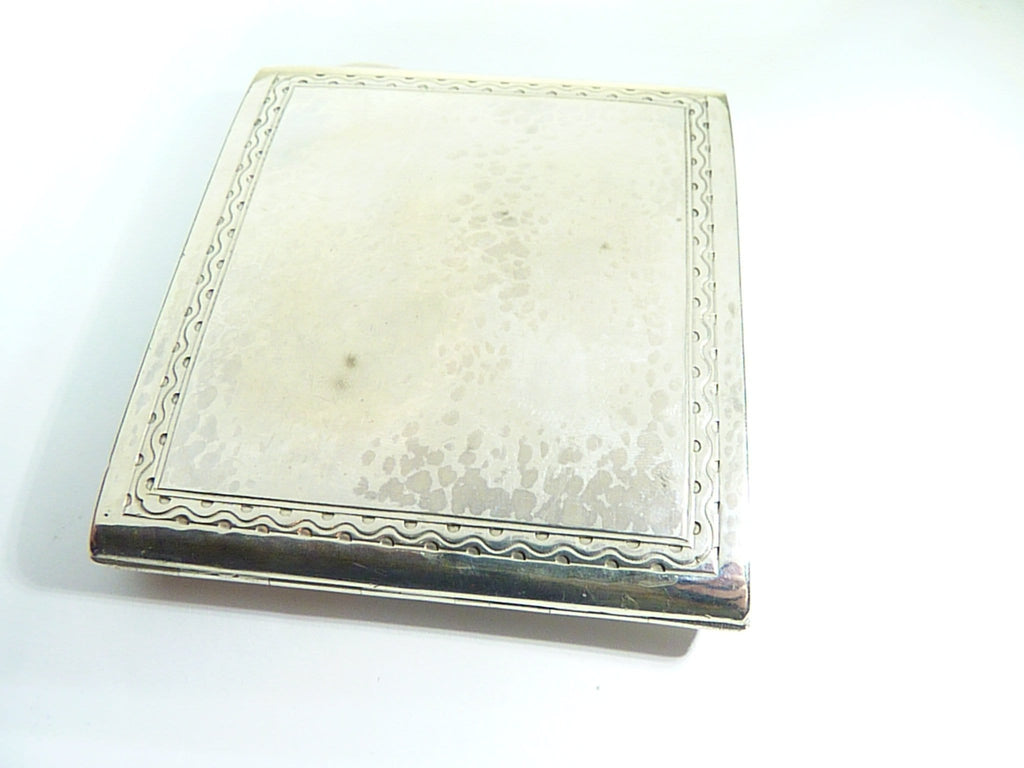 sterling silver cigarette case Liberty & Co