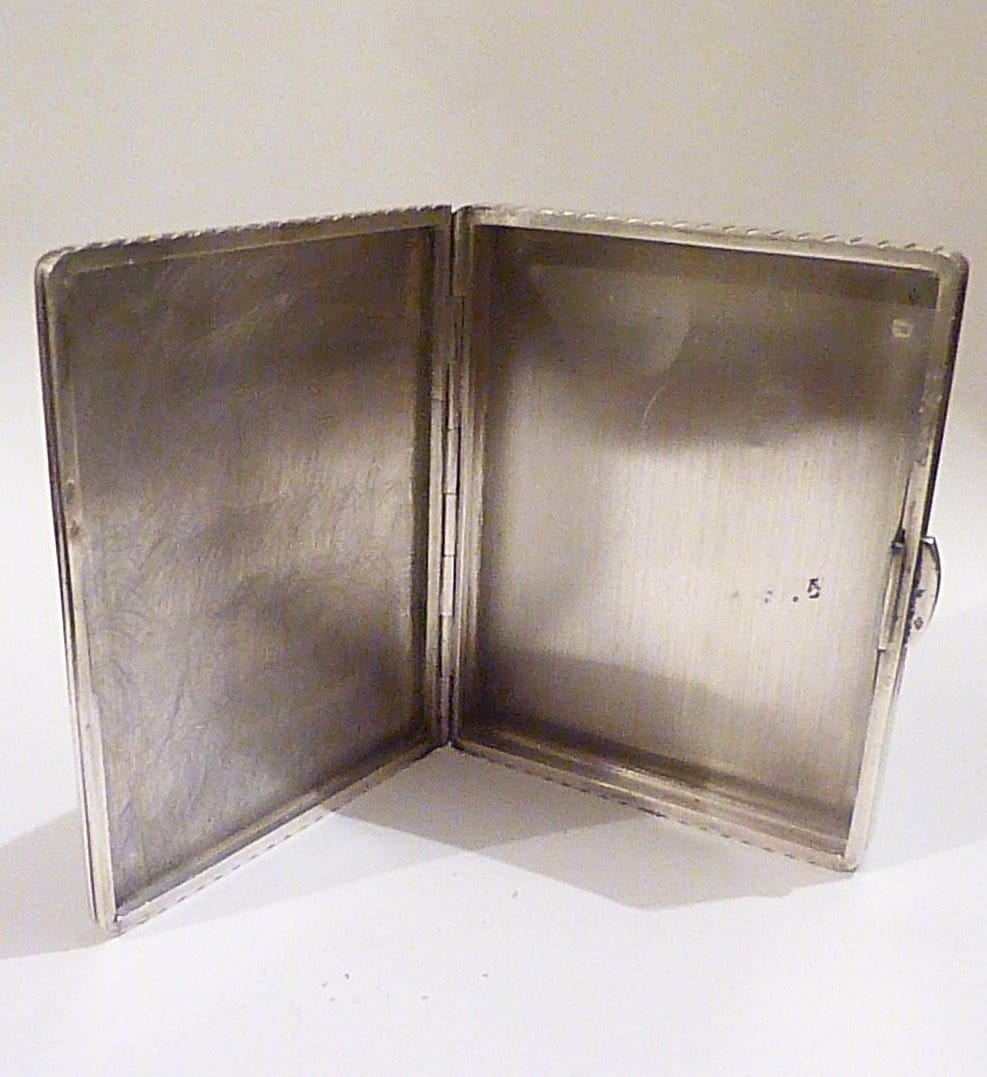 Cartier cigarette cases Art Deco cigarette cases
