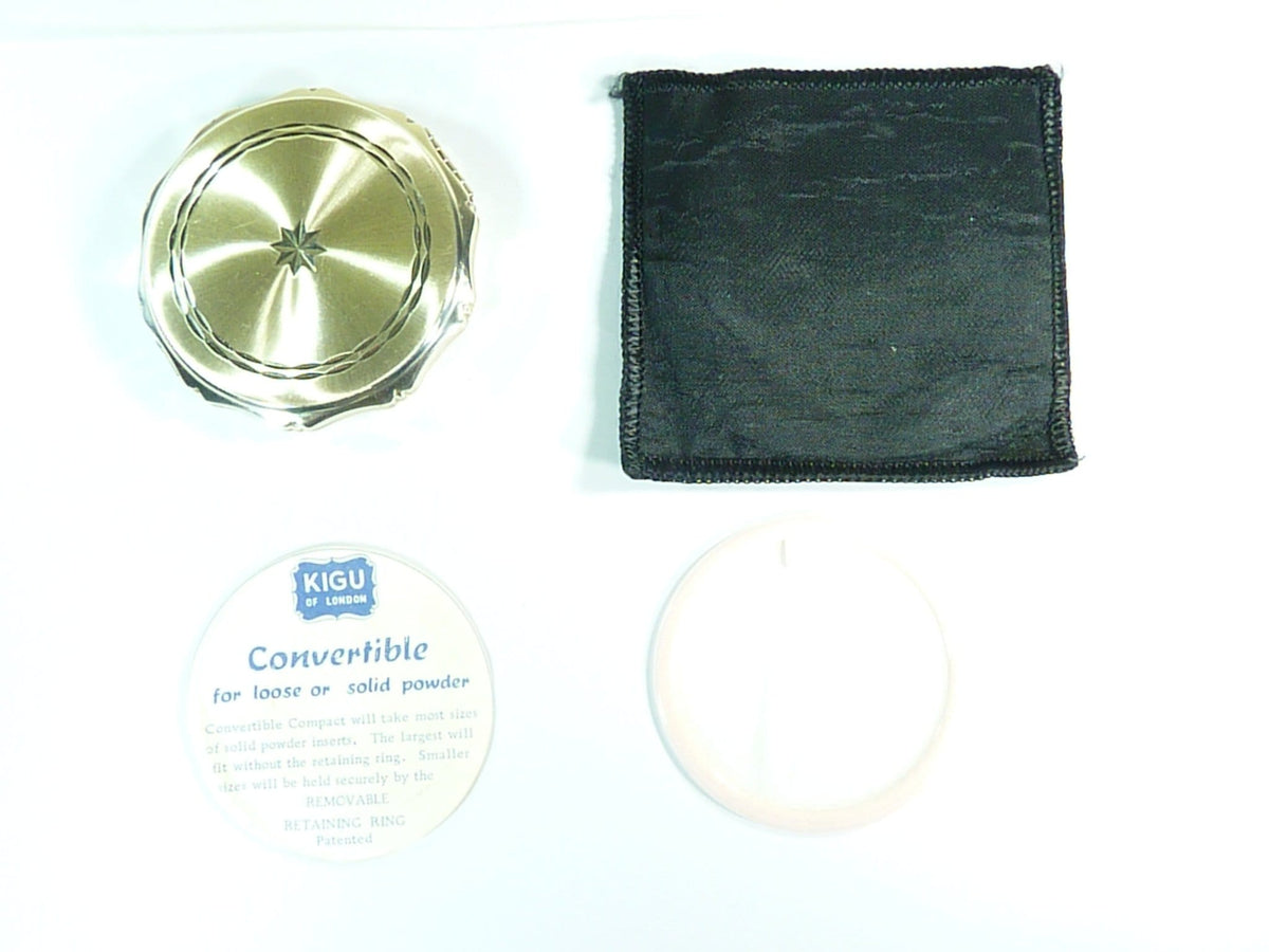 sterling silver compacts for use with Rimmel Stay Matte