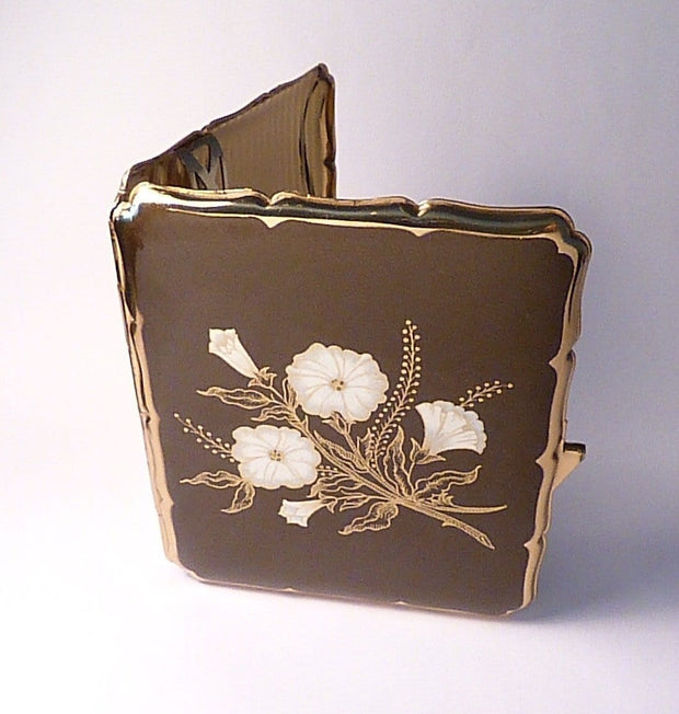 Cigarette cases for her vintage Stratton business card / cig cases 1960s