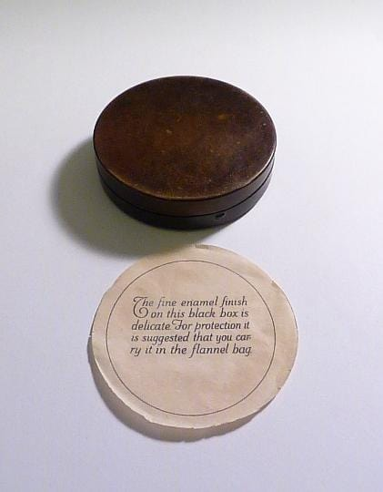 Rare antique Colgate powder compact