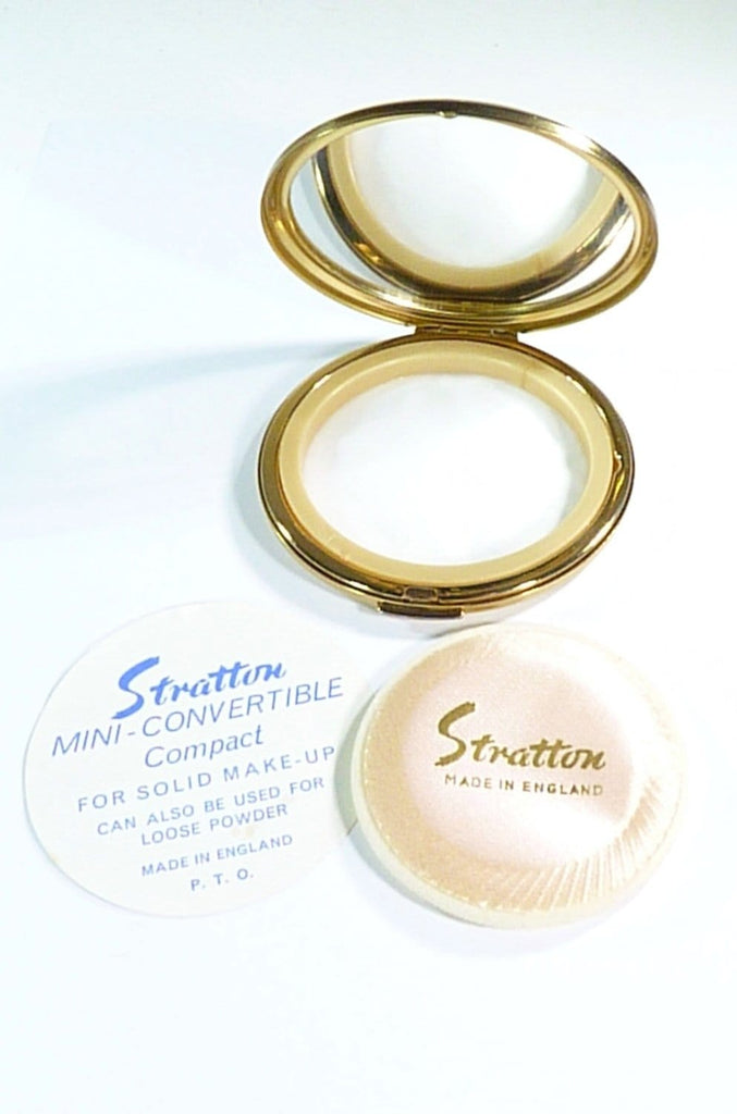 unused Stratton loose powder compact