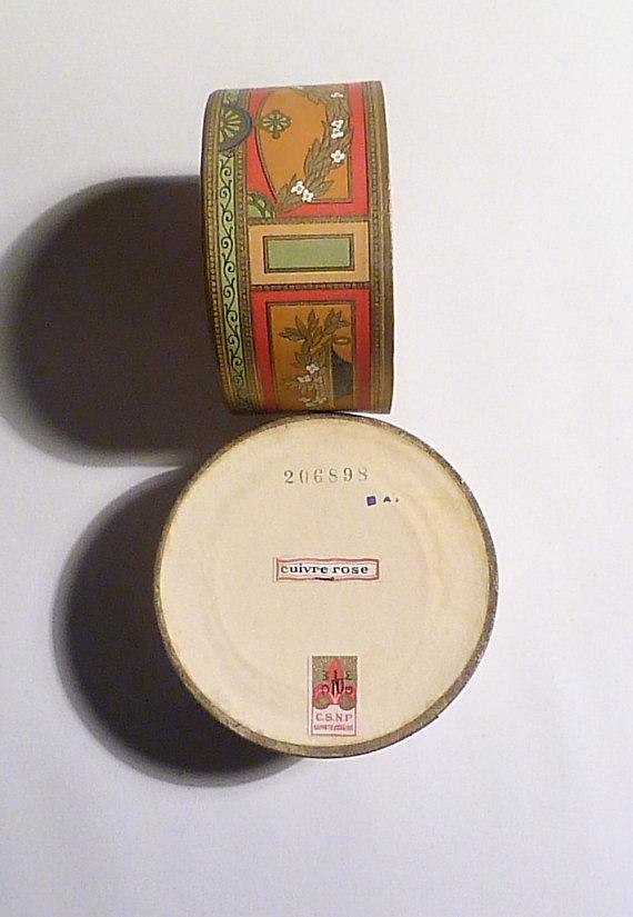 unused antique powder boxes