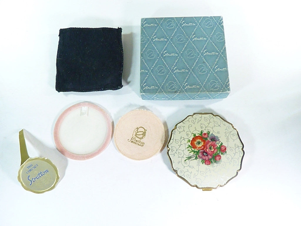 unused boxed vintage Stratton compact mirror