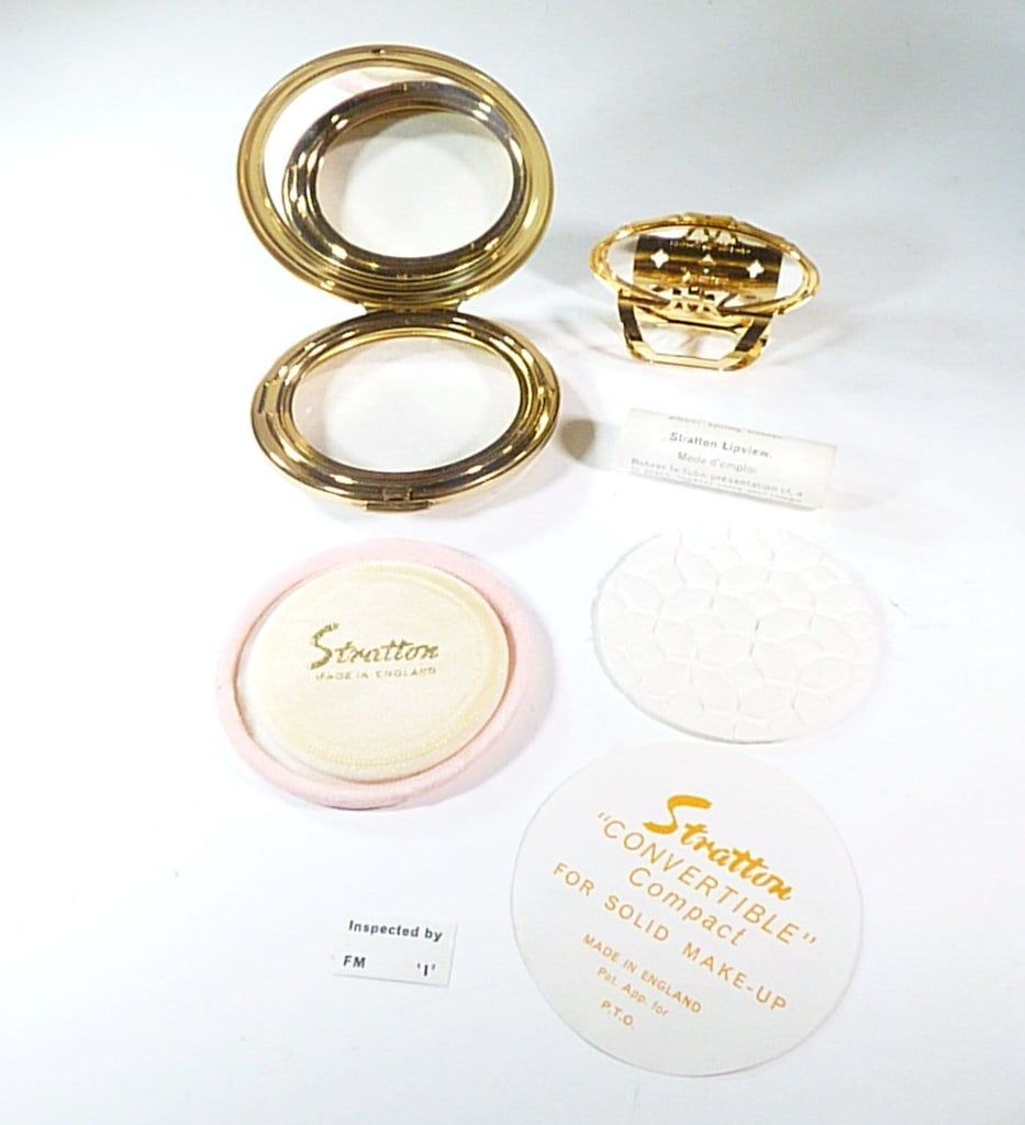 unused enamel powder compacts