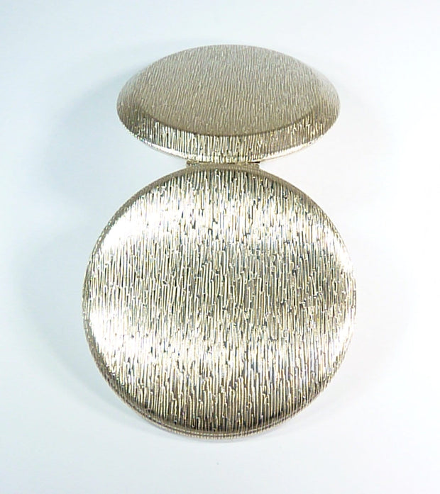 unused sterling silver powder compact