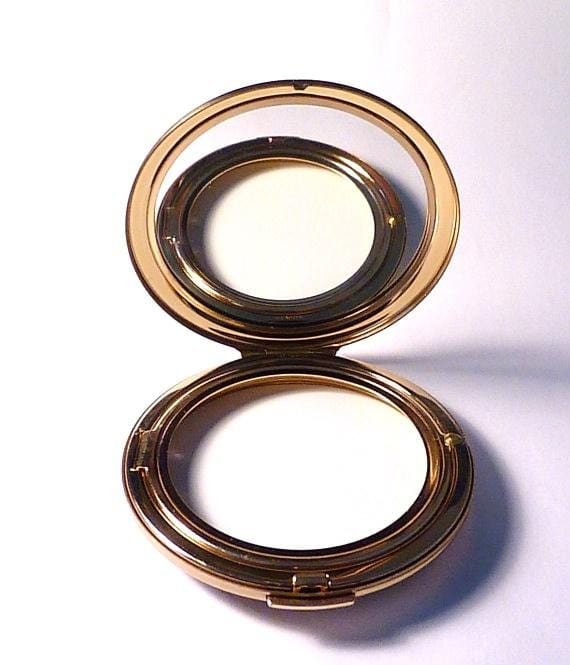 vintage compacts for pressed powder