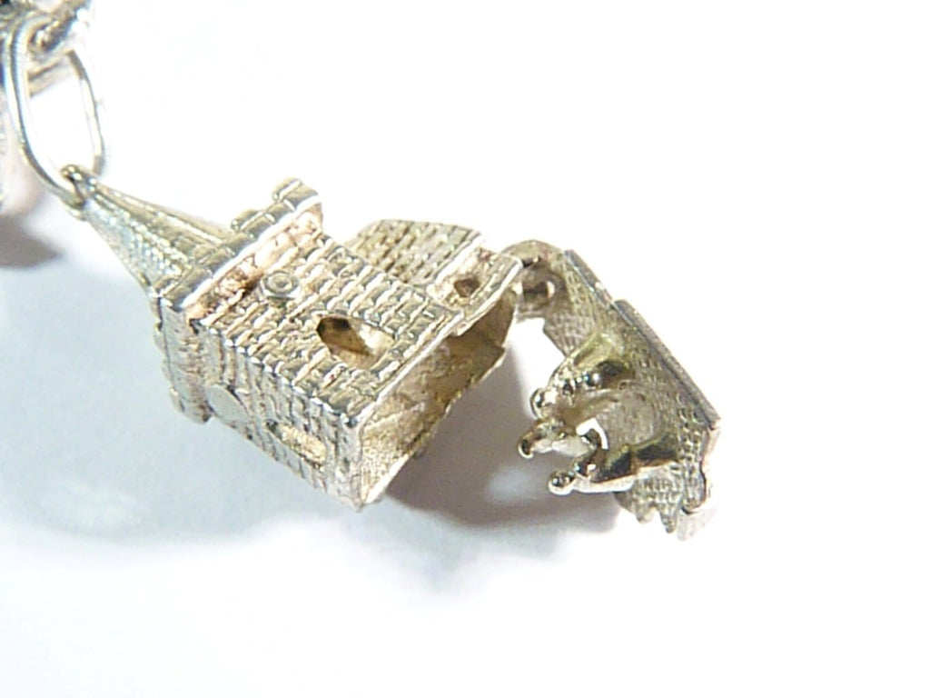 vintage hinged opening church wedding ceremony charm