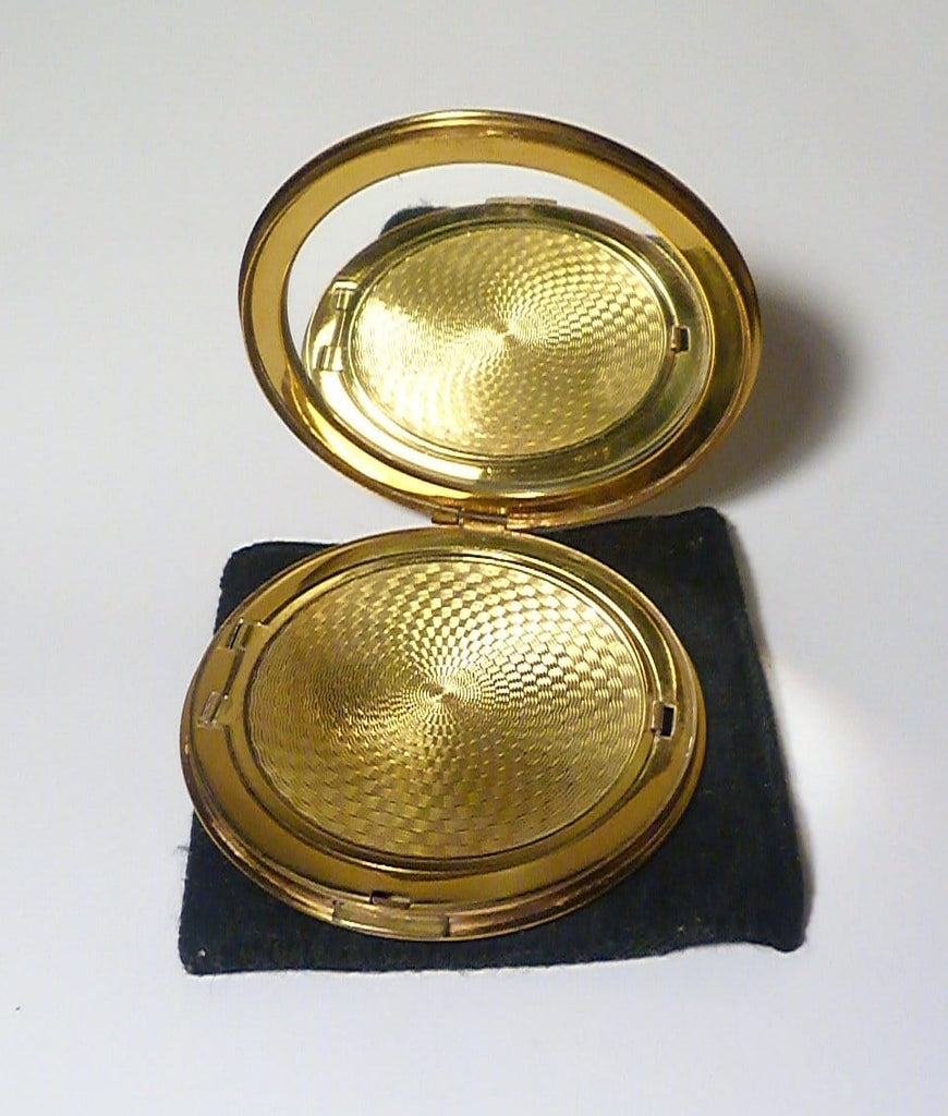 vintage loose powder compacts
