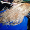 Edyta Stradala stylis from Illinois best work Sew-Ins, Weft Installs, Tape-Ins Hair Extension