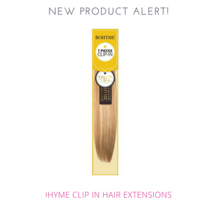 New Product Alert:  Bohyme Clip In Hair Extensions