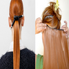 Create a Dramatic High Ponytail with Clip-in Hair Extensions