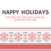 Procrastinator?  Here's our gift to you!  $20 off any Gift Card
