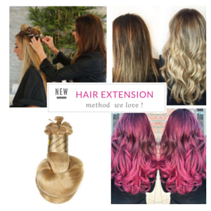 Favorite new hair extension method natural beaded rows with hand bohyme hand tied hair extensions pmusecretfo Choice Image