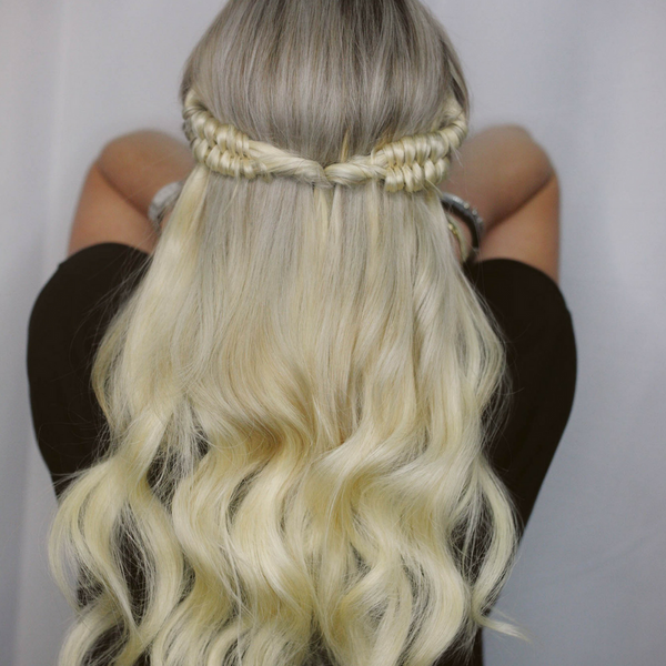 Braid Bar & Halos = Hair Heaven