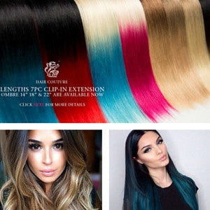 Sunnys hair blog tagged clip in hair extensions nyc sunnys hair new product ombre clip in hair extension by le prive pmusecretfo Choice Image