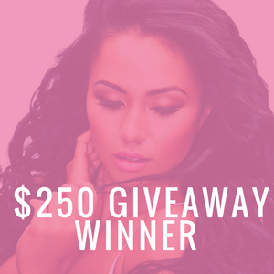 Congratulations:  The Hair Extensions Giveaway Winner is...