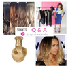 Sunnys Q & A:  Virgin Hair Dyed vs. Blonde Bohyme Hair Extensions