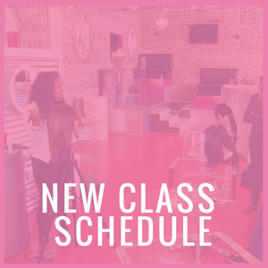 New Hair Extensions Classes in NYC Schedule