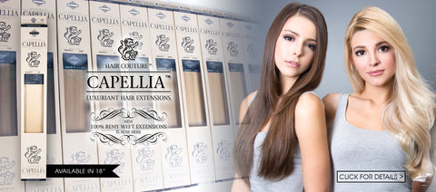 Capellia Wefted Hair Extensions by Le Prive