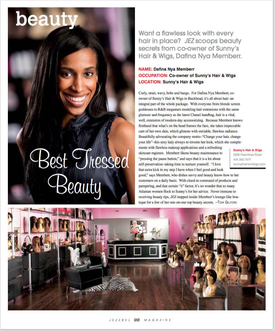 Jezebel Magazine Hair Extensions