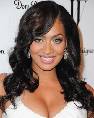 Lala Anthony with Wavy Virgin Indian Hair