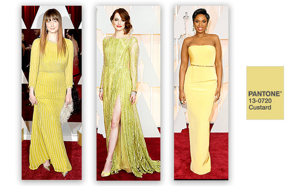 Yellow dresses at the Grammys