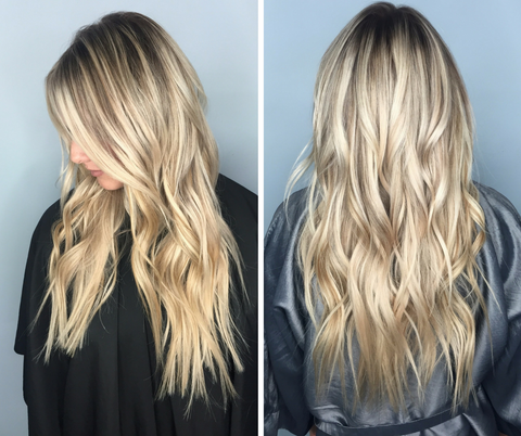 Blonde real extensions