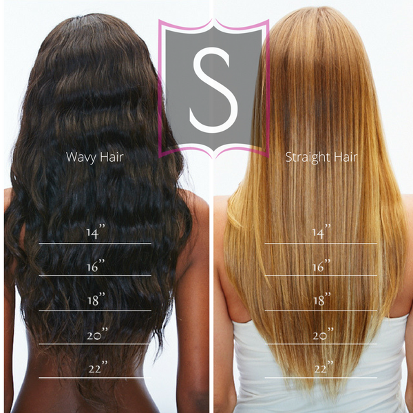 Hair Extension Length Guide