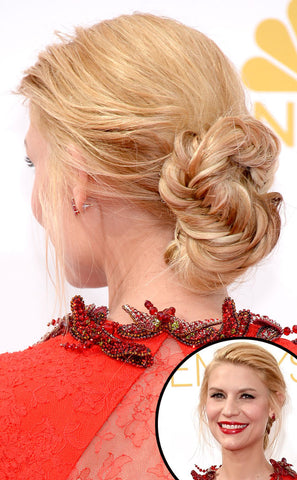 Claire Danes Hair Extensions at the Emmy