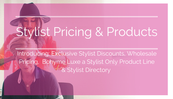 Stylist Discounts on Hair Extensions