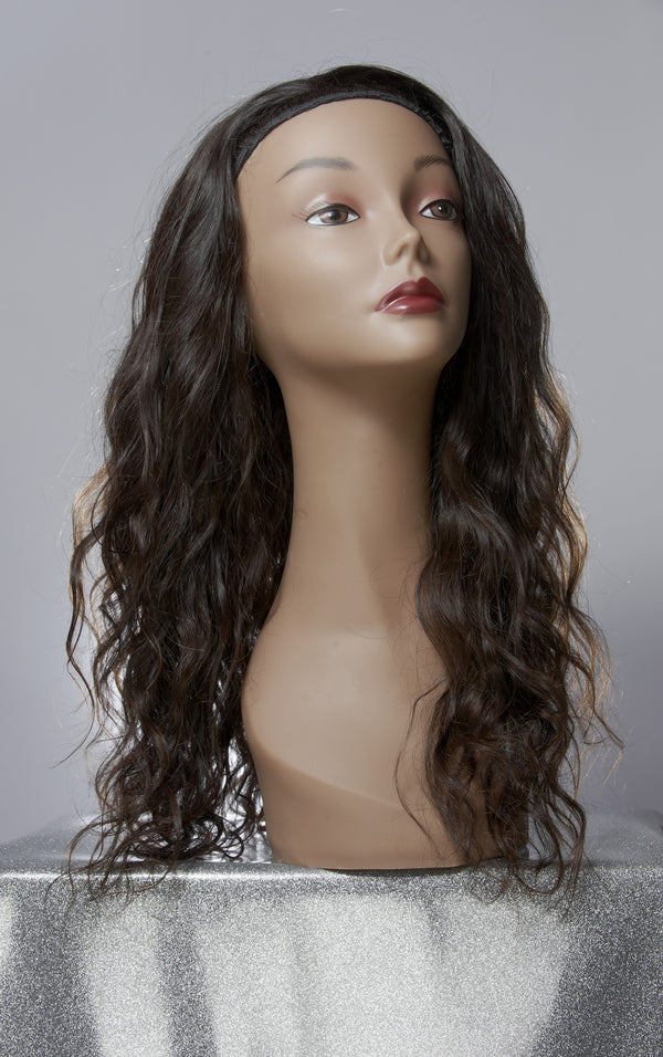 Virgin Wavy Indian Hair Extensions