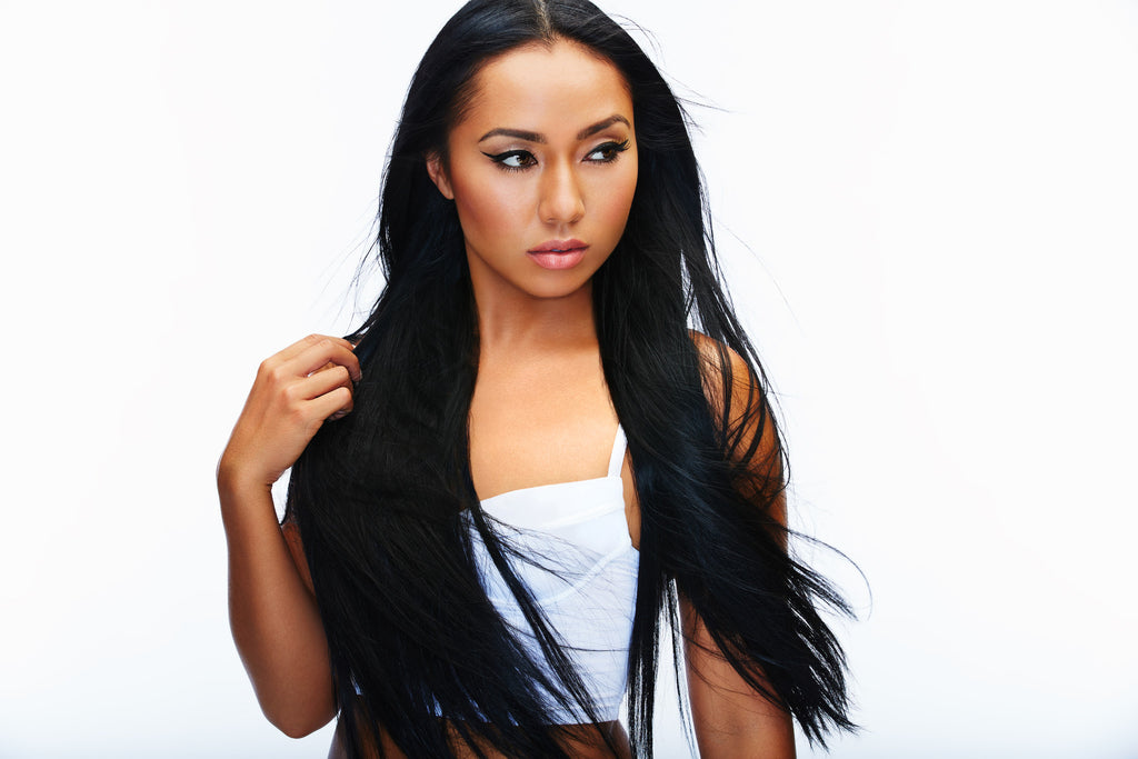 Virgin Indian Hair Clip In Hair Extensions